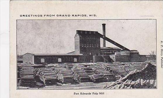 Wisconsin Grand Rapids Port Edwards Pulp Mill