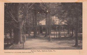 BELLOWS FALLS, Vermont, 1900-1910's; Barber Park #2