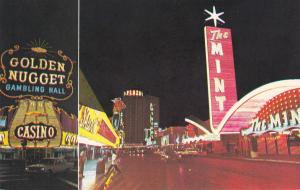 LAS VEGAS, Nevada, 1940-1960´s; Golden Nugget Gambling Hall, The Mint
