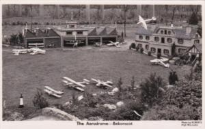 England Beaconsfield Bekonscot Model Village The Aerodrome Real Photo