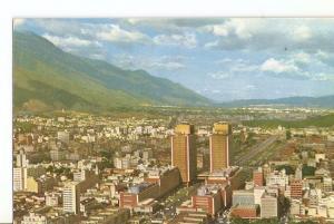 Postal 034746 : Centro Simon Bolivar con vista al Este vista aerea Caracas-Ve...