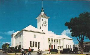 Exterior,  The City Hall,  Hamilton,   Bermuda,  40-60s