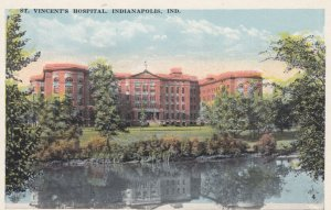 INDIANAPOLIS , Indiana , 1910s ; St Vincent's Hospital