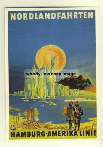 ad2121 - Hamburg Amerika Line - modern poster advert postcard