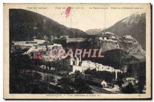 Old Postcard Briancon La Chaussee's Guisanne Bridge was the Porte d'Embrun