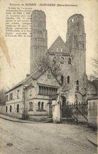 CPA Env. de JOUEN - JUMIEGES (105669)