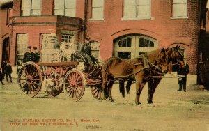 RI - Providence. Niagara Engine Co. No. 5, Firehouse, 1907