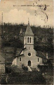CPA AK St-DENIS pres MARTEL - L'Église (654095)
