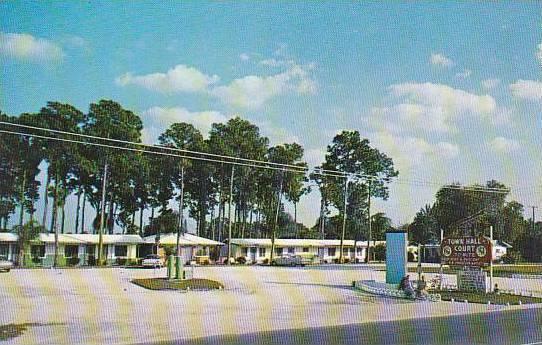 Florida Sarasota Town Hall Court