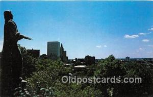 Statue Postcard Providence, RI, USA Statue of Roger Williams