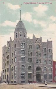 Exterior, Public Library, Sioux City, Iowa, 00-10s