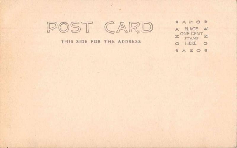 La Junta Colorado Columbia School Real Photo Antique Postcard J79595