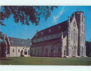 Unused 1950's CHURCH SCENE Great Barrington Massachusetts MA p3762-15