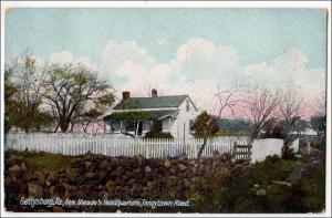 Gen Meade's Headquarters, Gettysburg PA