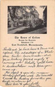 25900 MA, East Northfield, 1961, The House of Colton