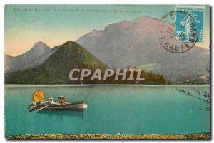 CARTE Postale Old Annecy Lake and Mountain Duint Entrevernes