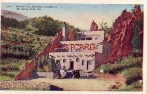 HIDDEN INN, GATEWAY GARDEN OF THE GODS, COLO. Visitor Center vintage autos