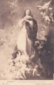 Murillo La Conception Immaculate de la Vierge Musee Du Louvre Paris