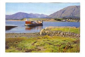 Corran Ferry Boat , Loch Linnhe, Inverness-shire, Scotland 50-70s