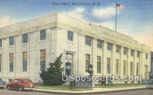 Post Office Manchester NH Unused