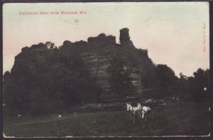 Steamboat Rock Near Mauston,WI