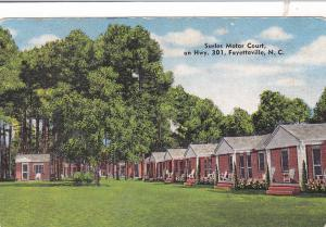 FAYETTEVILLE , North Carolina, 30-40s; Surles Motor Court , Hwy 301