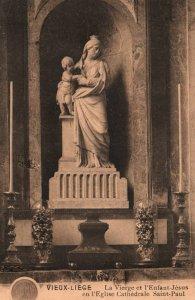 l'Eglise Cathedrale Saint-Paul,Vieux-Liege,Belgium BIN