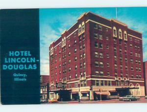 Pre-1980 HOTEL SCENE Quincy Illinois IL G9712