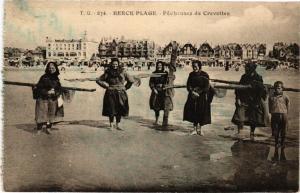 CPA BERCK-PLAGE - Pécheuses de Crevettes (163983)