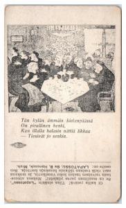 Old Ladies with Forked Tongues, Lapatossu Finnish Language, Hancock, MI Postcard