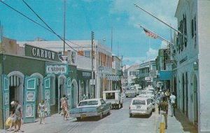 U S Virgin Island St Thomas Charlotte Amalie Main Street Shopping Paradise s3537