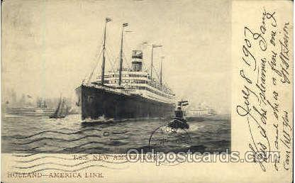 T.S.S. New Amsterdam, Holland - America Line Postcard Postcards  T.S.S. New A...