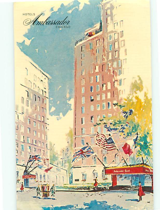 Ambassador hotel state street goethe chicago illinois gold for Gold coast chicago hotels