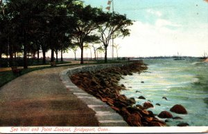 Connecticut Bridgeport Sea Wall and Point Lookout