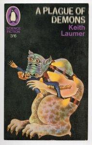 Keith Laumer A Plague Of Demons 1967 Book Postcard