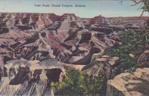 Arizona Yaki Point Grand Canyon Curteich