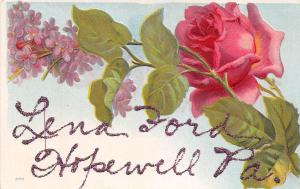 C23/ Hopewell Pennsylvania Pa Greetings from Postcard c1910 4