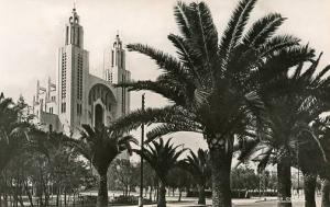 Morrocco - Casablanca. Church of the Sacred Heart - RPPC