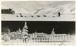 ID - Sun Valley Lodge, Ketchum Sawtooth Mountains    *RPPC