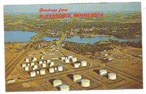 Aerial View, Greetings from Alexandria, Minnesota, 40-60s