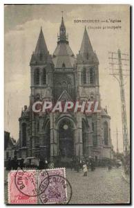 Bonsecours Old Postcard the & # 39eglise