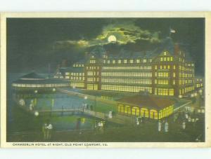 Chamberlain Hotel Fort Monroe - Old Point Comfort - Hampton Virginia VA HQ4724