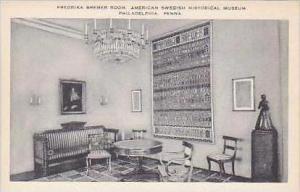 Pennsylvania Philadelphia Fredrika Bremer Room The American Swedish Historica...