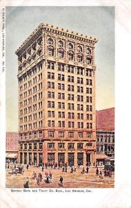 US Cal. Los Angeles, Savings Bank and Trust Co. Bldg.