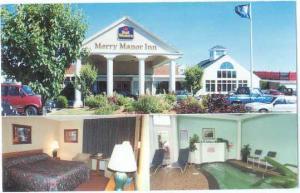 Best Western, Merry Manor Inn, 700 Main St So. Portland, Maine, ME, Chrome