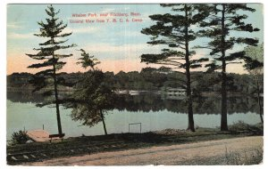 Whalom Park, near Fitchburg, Mass, General View from Y.M.C.A. Camp