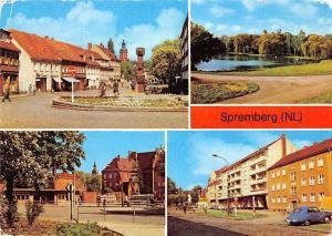 Spremberg Grodk Clara Zetkin Strasse Schloss Busbahnhof Castle Vintage Car