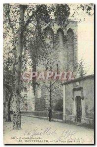 Old Postcard Montpellier La Tour des Pins