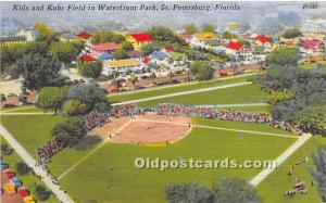 Kids and Kubs Field in Waterfront Park St Petersburg, Florida, FL, USA Stadiu...