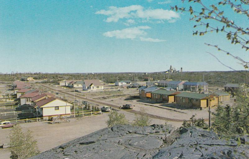 YELLOWKNIFE, NWT, Canada, 50-60s; D.O.T. Block, Con-Mine in Background